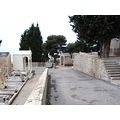 Making a round from right to the left with my camera of the view on the grave yard, menton, cote ...