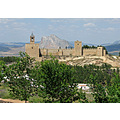 Antequera Castle Lovers Leap Rock home Andalucia Malaga Spain