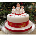 Christmas Day 2012 - Claire and Lee brought us a Christmas Cake!