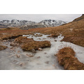 frozen stream in the lakes