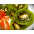 kiwi tangerine fruit green orange archer