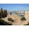 View across Alhambra Palace
