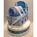 Choo Train diaper cake baby shower cakes gifts idea centerpiece