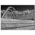 olympic stadiums complex in Athens arch made by spanish architect Calatrava