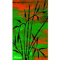 bamboo sunset artwork mellie