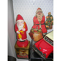 plastic santa made in turkey 1965