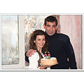 man woman couple birthday cake Bulgaria