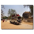 myanmar burma mingun ruins people vehicle burmx mingx peopx vehix ruinx
