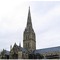 salisbury england church cathedral ancient architecture