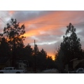 sunset in Big Bear!!!!!!!!!!