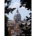 Sunday morning at Rome view from Pincios terrace