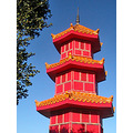 oakland chinatown ochinatownfph chinese pagoda tower red gold