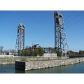 Welland Canal liftlock bridge