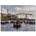 netherlands amsterdam bridge river amstel nethx amstx viewn waten bridx