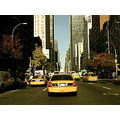 newyork taxi cab street traffic avenue car