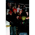 monster party makeup masks night