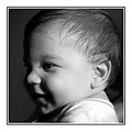 baby kids son Dimitris greece volos people portraits BW