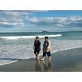 Margie Blackhead Beach Dunedin Weesue Ocean Sunshine Laughter
