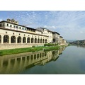 reflectionthursday arno river florence italy 2012