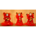 Angels Christmas red England music instruments