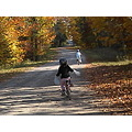 Canadian Autumn - one of the last nice days for a bike ride before the snow flies