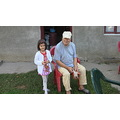 "My uncle (my mom's oldest brother and my niece, her Bday today 22'nd Oct 2012 ""6yo"")  the old and..."