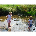 girls downham river