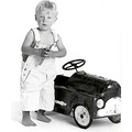 pedal car portrait child