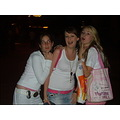 Me jenny n jackie i think we r in the Disney village at the bridge lol we asked a randomer to tak...