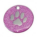 glitter tag pet novelty tags