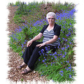 Joan among the Bluebells Broxhill