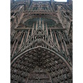 a very small part of Strasbourg Cathedral