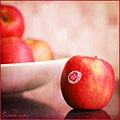 apples pink lady still life