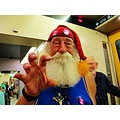 July Santa Sweden Skane 2013 Bosse Persson Malmoe City Train