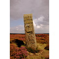 handstone north yorks moors heather