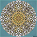 Tree branch mandala abstract silverbirch birch