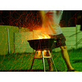 braai green exsposure fire orange magic