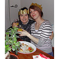 mum daughter christmas dinner