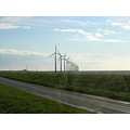 windmills ijsselmeer holland