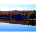 Fall in The Adirondack Mountains, New York State 