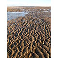 beach sand pools seaside coast northwales prestatyn sea rocks