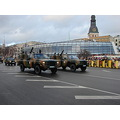 Riga Latvia Daugava Parade 18november Chevrolet parade Rover amphibious