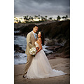 embroidery accent the match and flare silhouette,Total tulle wedding ceremony dresses with sparkl...