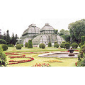 palm house tropical plants schonbrunn palace grounds vienna austria petra canada