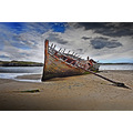 Shipwreck at Bunbeg Co Donegal