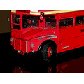 Bus red Routemaster London Manipulated Transport