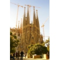 Spain with Barcelona gaudi Familia Sagrada La cranes