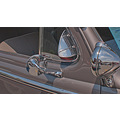Antiques Automobiles Chrome Reflections Studebakers