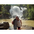 "Travel to ""Po�os de Caldas"" - Minas Gerais, Brazil. In ""V�u das noivas"".