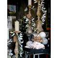 shop window oakland loot antiques vintagefph vintage candlestick shell
